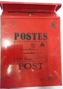Metal housing letter box / peti surat