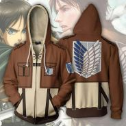 Anime attack of titan Mikasa Levi sweater Jacket