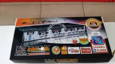 PIRO MW89 AMPLIFIER WITH 8 CHANNEL 1600pcs TWEETER