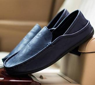 0224 Dark Blue Loafers Casual Man Slip On Shoes