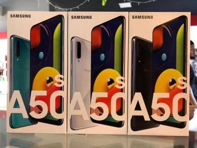 New Samsung Galaxy A50s [ 6 128GB ] Sme Gift