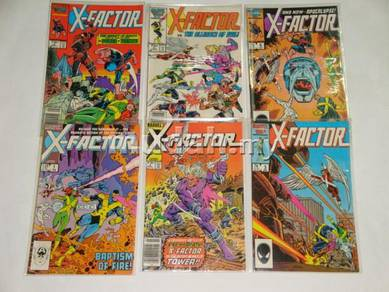 X-FACTOR. 1st series. issue 1-8, 13-19, Annual1