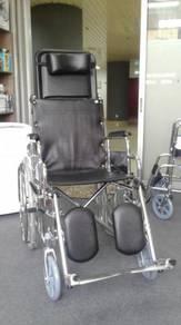 Reclining (CHROME) Wheel Chair