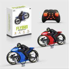 Flying rc motorcycle