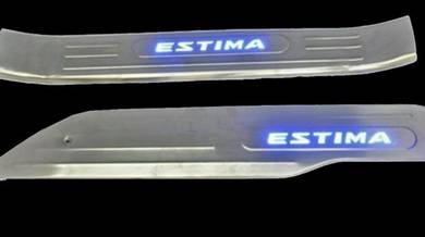 Toyota estima acr50 led door sill plate side step