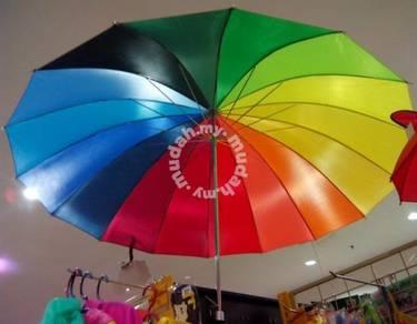 Payung Golf Umbrella rain sunlight 4 house office