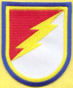 38th Cavalry Regiment Beret Flash US Army Patch