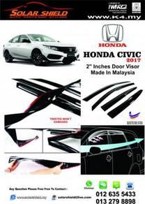 Honda Civic 2017 Mugen Door Visor