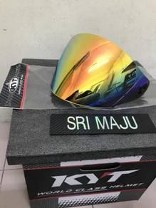 Kyt titan rainbow visor original