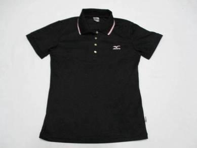 Mizuno Ladies Black Poly Polo Shirt M (Kod AV3326)