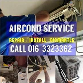 Pandan Perdana Aircond Install/Dismantle