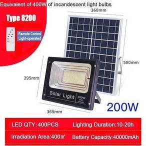 Super Bright 200W Solar LED Flood Light