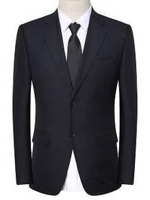 S327 READY STOCK Men Blazer Black Coat Suit Jacket
