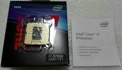 I7 - 9700k