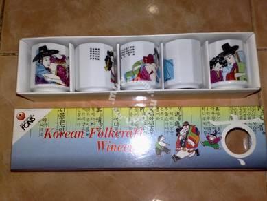 Cawan korean wine cup