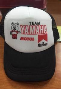 Yamaha Team Malboro Retro trucker Cap Topi