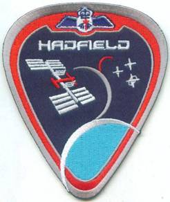 Hadfield Expedition 34/35 Canada Space CSA Patch