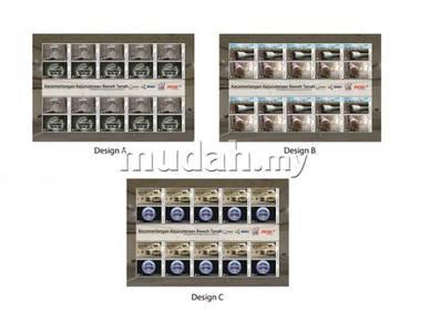 Mint Stamp Sheet Underground Engineering Msia 2011