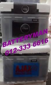 Car battery exora 55d 55D23L BATERI KERETA K5 CX5
