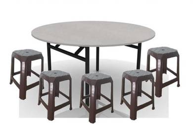 Round table & stool set - tp11