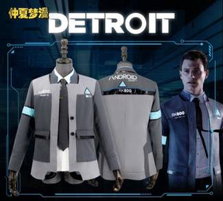 Detroit become human connor cosplay costume jacket
