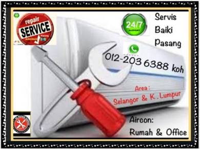 Servicing Aircond SEL&KL AIR CON Pro Air cond