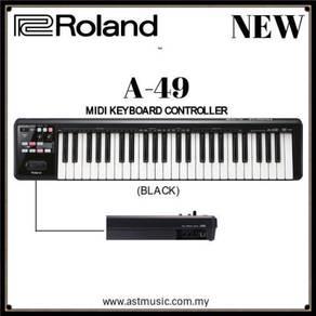 Roland A49 Midi Keyboard Controller - Black