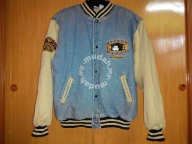Mickey x baseball jacket
