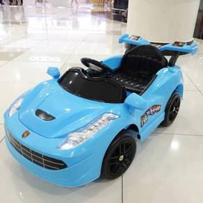 Ferrari sport baby Car for kids with music lights