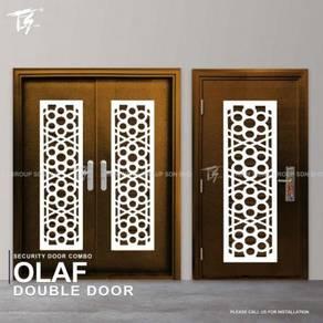 Security Door Combo Double & Single Olaf Zone 3