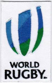 World Rugby WR iRB Badge Iron On Badge Patch