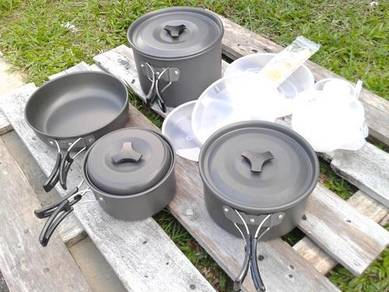 Camping Cooking Set 5 Person DS 500
