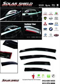 Honda City 2009 Mugen Door Visor