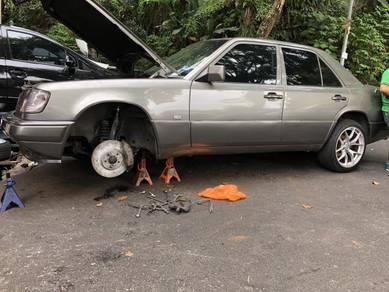 Brake disc 4pot Mercedes