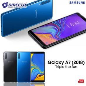 SAMSUNG A7 (2018) - (4GB/128GB) Triple Camera
