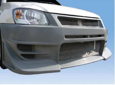Proton Saga BLM Damd Front Bumper Fiber