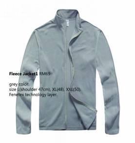 Fleece Jacket Long Sleeves Shirt