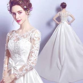 White wedding bridal prom dress gown RB0272