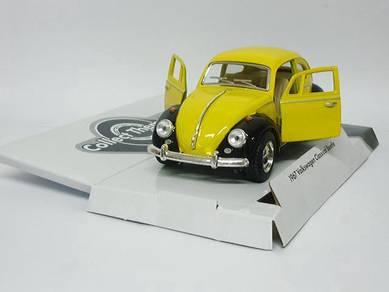1967 Volkswagen Classical beetle model car- yellow