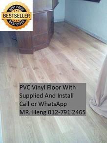 PVC Vinyl Floor In Excellent Install 45y4