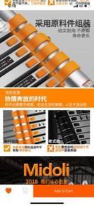 New Magnesium Force telescopic ladder aluminum