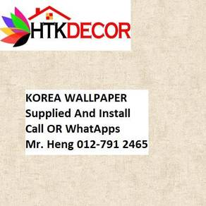 PVC Vinyl Wall paper with Expert Install 67DC