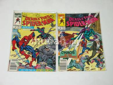 Deadly Foes of Spider-man. complete limited series