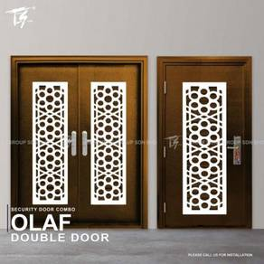 Security Door Combo Double & Single Olaf Zone 1