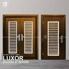 Security Door Combo Double & Single Door Zone 3