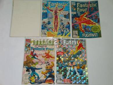 FANTASTIC FOUR issue 371-375. This Flame This Fury