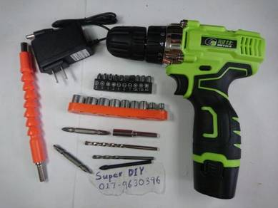 Portable Cordless Drill Electric Screwdriver Set