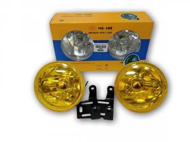 Spot light Bulat KUNING PUTIH 3 inci 4 inci - BARU