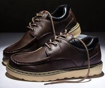0250 England Retro Brown Boots Man's Casual Shoes