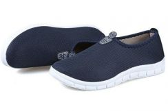 0266 Men Blue Sport Slip On Breathable Water Shoes